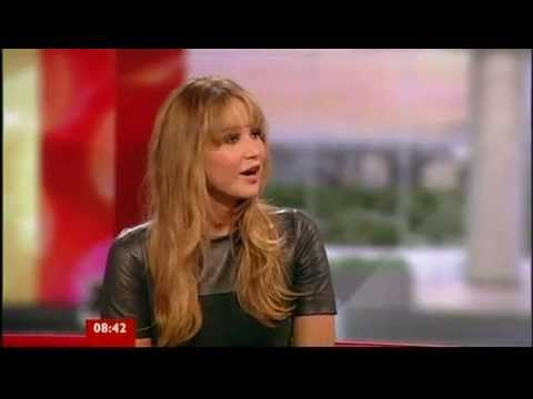 Jennifer Lawrence Hunger Games Interview BBC Breakfast 2012
