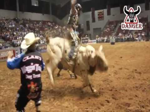 DANGER BULL RIDING COMPANY RODEO 2013