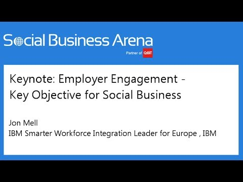 #cebitsba 2014 | Keynote: Employer Engagement - Key Objective for Social Business | Jon Mell