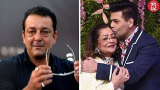 Sanjay Dutt Recalls The Time After His Mother's Death | Karan Celebrates His Mother's Birthday - ZOOMDEKHO
