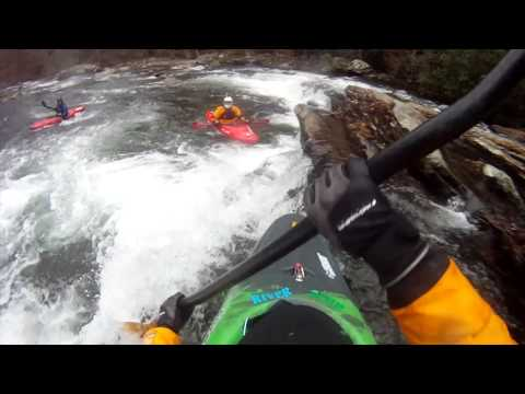 Garrett Outside World Video Whitewater Kayaking River Scum