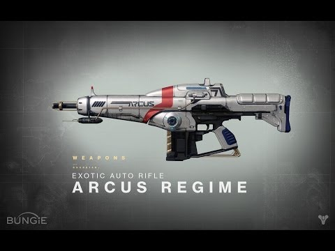 Destiny News - Exotic Weapons List: Arcus Regime (Exotic Auto Rifle)