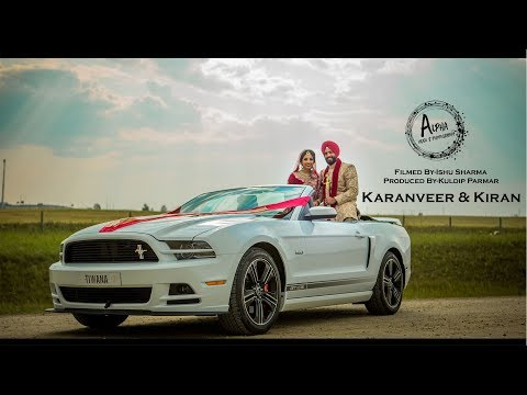 Video | KARANVEER & KIRAN/4k/Next Day Edit/Alpha Video & Photography/Sikh Wedding 2018/Calgary Alberta/