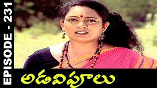Adavipoolu || Episode 231 || Telugu Daily Serial - IDREAMMOVIES