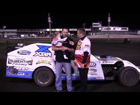 Todd Shute Modified Feature winner 04/12/14