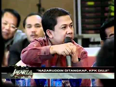 Jakarta Lawyers Club - Nazaruddin Ditangkap, KPK Diuji 7/11