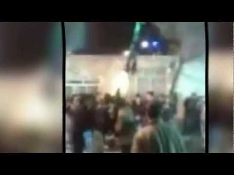 Mojza in Iran - Unknown Force on Alam e Hazrat Abbas (as)
