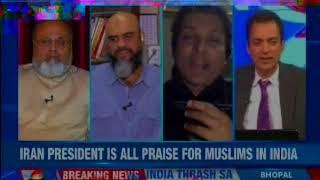 Netas communalise, Hassan Rouhani praises secular India — Nation at 9 - NEWSXLIVE