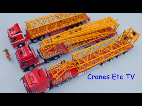 Cranes Etc TV: NZG Liebherr LTM 11200-9.1 Review Part 3
