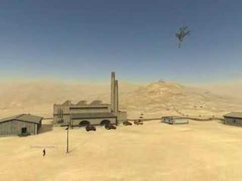 Desert Combat CTF in loop