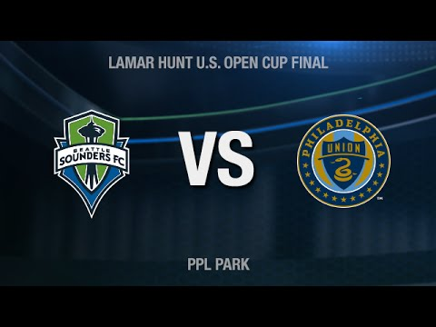 LIVE: Seattle Sounders FC at Philadelphia Union U.S. Open Cup Final