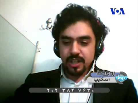 Peyman Ghasemi  interview with VOA about HIV widespread in Iran Persian) - اچ‌آی‌وی ایدز