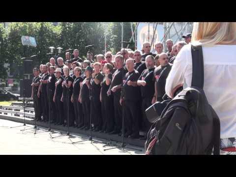 World Choir games 2014. Riga. Esplanāde. Sydney Gay & Lesbian Choir (18.07.2014 no 16.00) - 00324