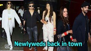 Newlyweds Sonam, Himesh- Soniya & Neha-Angad are back in town - IANSINDIA
