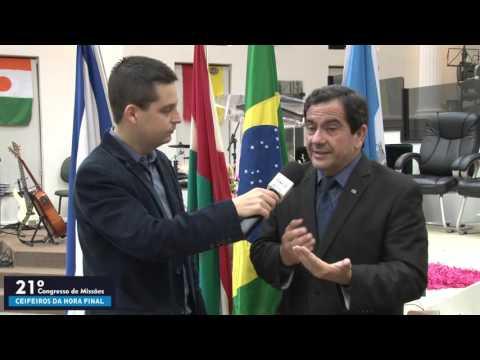 21º Congresso de Missões - AD Içara -  Entrevista com pastor Jander Magalhães - 13 11 2015