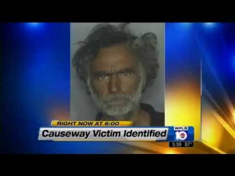 Man eats another man's face in Miami/Zombie Apocalypse 2012? Victim Identified.