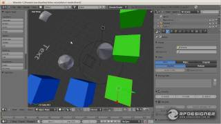 Usando Converso, Unidades de Medida e Outliner do Blender 