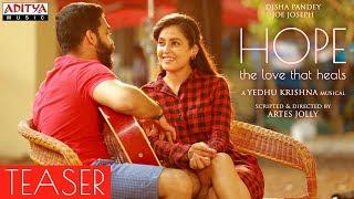 HOPE –The Love That Heals Teaser  || Disha Pandey, Joe Joseph || Artes Jolly || Yedhu Krishna - ADITYAMUSIC