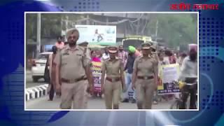 video : मुख्यमंत्री आवास का घेराव के लिए सैंकड़ों अध्यापक रवाना