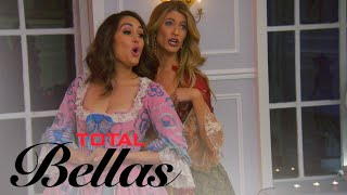 Nikki Bella Gets Swept Off Her Feet by Male Strippers | Total Bellas | E! - EENTERTAINMENT