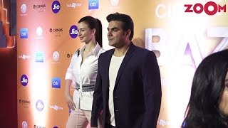 Arbaaz Khan & Giorgia Andriani spotted at World Premiere of Cirque Du Soleil Bazzar - ZOOMDEKHO