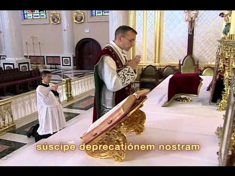 FSSP Video on Traditional Latin Mass (Part 1/3)