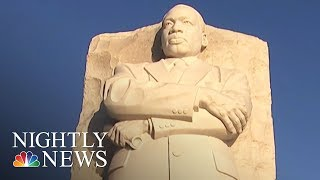 On MLK Day, President Trump Battling Questions About Whether He's Racist | NBC Nightly News - NBCNEWS