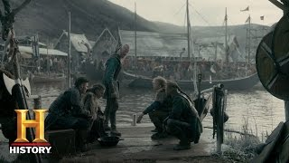 Vikings: Björn Tells His Brothers He Will Lead Them (Season 4, Episode 18) | History - HISTORYCHANNEL