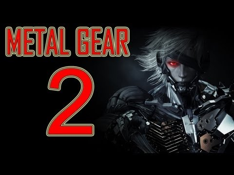 Metal Gear Rising Revengeance - walkthrough part 2 let's play gameplay 1080p HD Raiden game PS3 XBOX