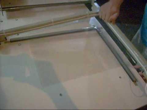Máquina para fazer sacos de polyester para assar em forno costela frango carnes em geral