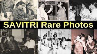 Telugu Actress Mahanati Savitri Rare Unseen Photos   Savitri Family Photos   TVNXT Hotshot - MUSTHMASALA