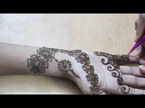 Beautiful Mehandi Design Front Hand Video 20 - ILoveMehandi.TV