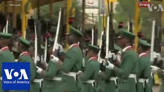 Military parade as Cameroon marks national day amid threats of violence - VOAVIDEO