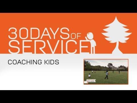 30 Days of Service by Brad Jamison: Day 25 - Coaching Kids
