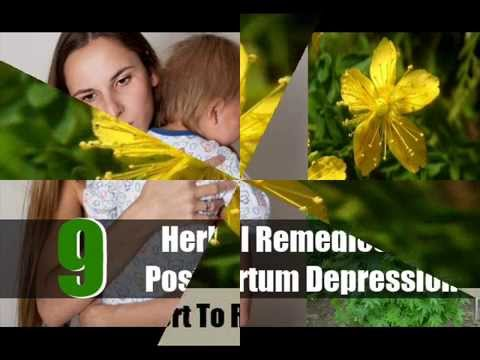 9 Best Herbal Remedies For Postpartum Depression