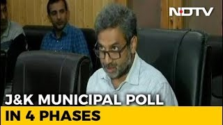 J&K Local Body Poll Dates Announced, Voting To Be Held In 4 Phases - NDTV