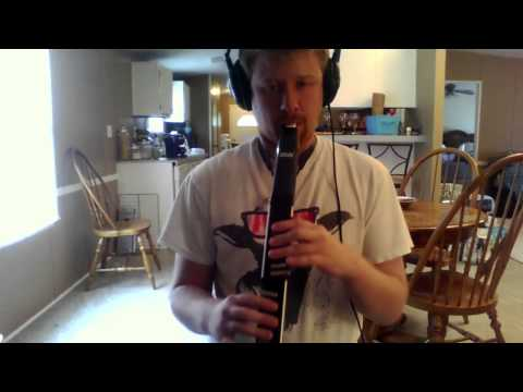 EWI Live Harmony Test with Muted Trumpet & Tenor Sax on Summertime