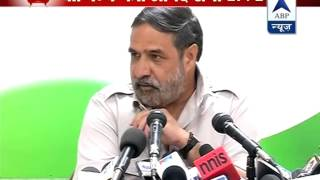Anand Sharma hits out at Modi - ABPNEWSTV