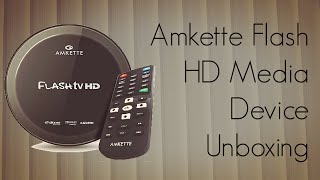 Our Unboxing of the Amkette Flash HD Media Device