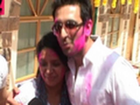 Indian Television's Colourful HOLI Party 2011