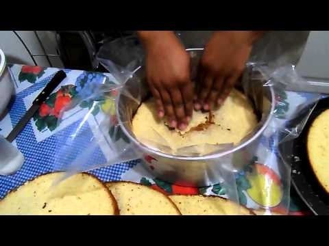 2º VIDEO.. Bolo para pasta americana