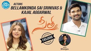 Actors Bellamkonda Sai Srinivas & Kajal Aggarwal Exclusive Interview || Talking Movies With iDream - IDREAMMOVIES