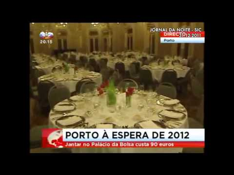Clipping TV Reports Le Reveillon Palácio da Bolsa 2011 / 2012