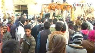 पुलवामा अटैकः जयपुर पहुंचा शहीद रोहिताश लांबा का पार्थिव शरीर - NDTVINDIA
