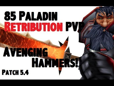 Doofensmirtz 2 - Level 85 Retribution Paladin Twink PvP - MoP Patch 5.4 - [1080p HD]