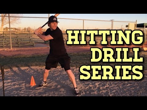 Baseball HITTING DRILLS SERIES for Youth Baseball Players!
