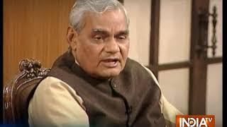 RIP Atal Bihari Vajpayee: Former PM's take on Kashmir issue - INDIATV