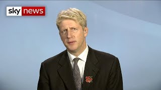 In full: Jo Johnson calls for a second EU vote - SKYNEWS