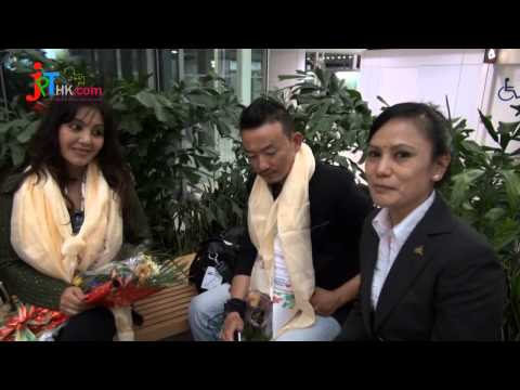 Karishma manandhar & Deepak Limbu Arrived In HK