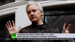 US 'secretly charged' Assange, prosecutor accidentally reveals – WikiLeaks - RUSSIATODAY